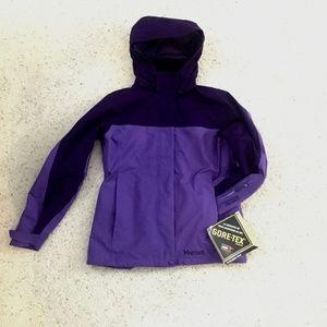 NWT Marmot Women's Purple Winter Ski Jacket Small